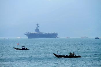 Nhóm tàu sân bay Mỹ chính thức thăm Đà Nẵng