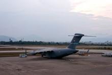 Hai máy bay dự phòng của ông Obama xuất hiện ở Đà Nẵng