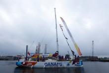 Thuyền buồm Đà Nẵng - Việt Nam về thứ 3 chặng áp cuối Clipper Race
