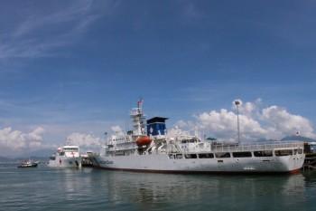 Tàu huấn luyện Nhật Bản thăm Đà Nẵng