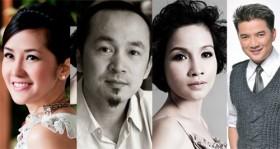 Lộ diện bộ tứ huấn luyện viên Giọng hát Việt mùa thứ 2