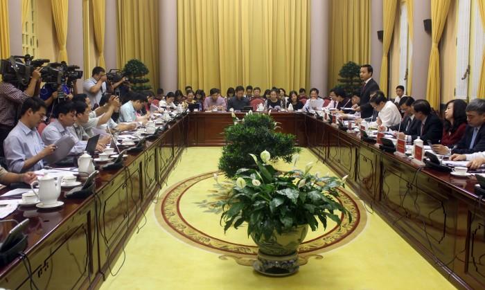 Văn phòng Chủ tịch nước công bố 7 luật