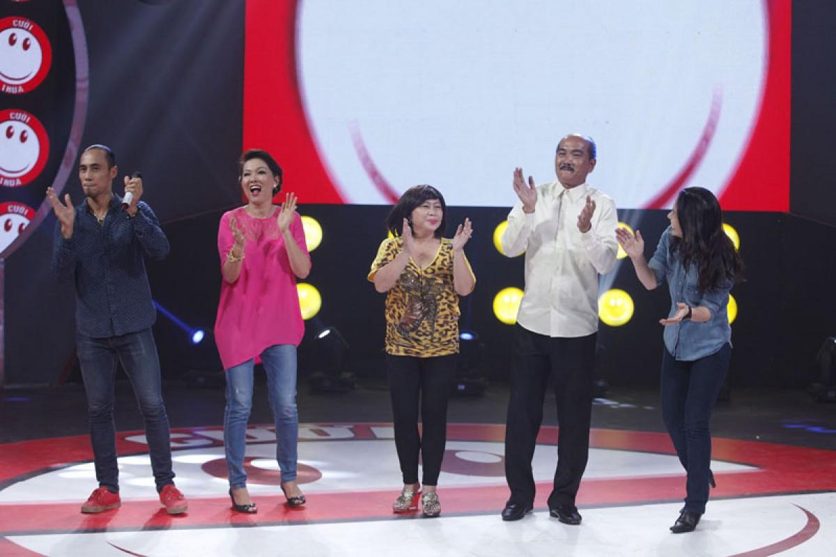 Dàn nghệ sĩ tham gia Cười là thua mùa thứ 2 tập đầu tiên
