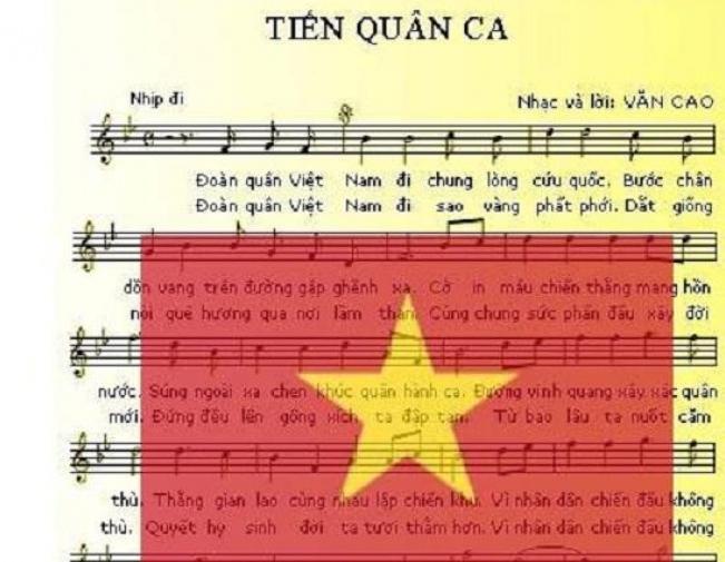 Gia đình cố nhạc sĩ Văn Cao hiến tặng 'Tiến quân ca'