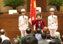 Bà Nguyễn Thị Kim Ngân tuyên thệ nhậm chức Chủ tịch QH khóa XIV