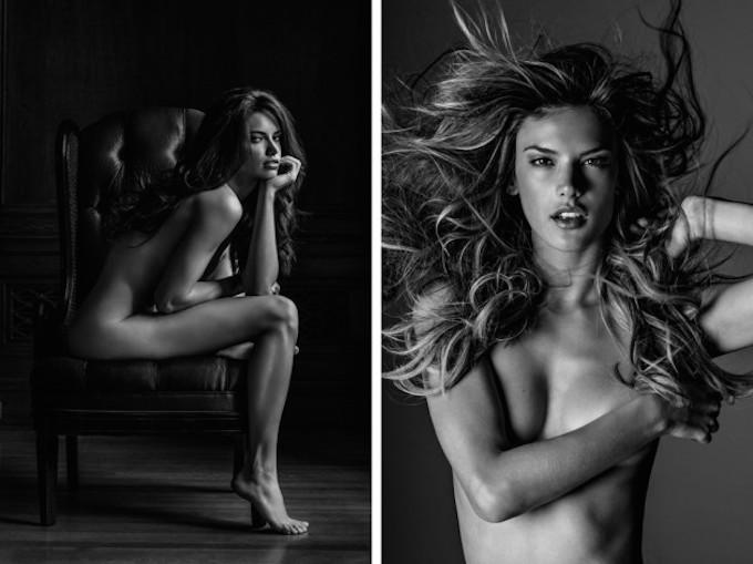 """Bộ ảnh nude nghệ thuật khiến thế giới """"phát sốt"""""""