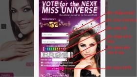 cung binh chon cho truong thi may tai miss universe 2013