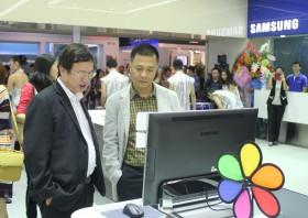 Khai trương cửa hàng trải nghiệm công nghệ Samsung