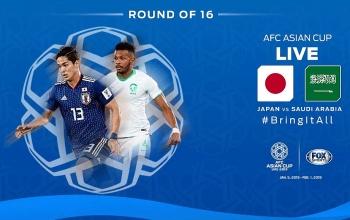 truc tiep nhat ban 1 0 saudi arabia nhat ban dung do viet nam o tu ket asian cup 2019