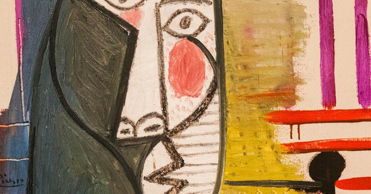 Bức họa trị giá 615 tỷ đồng của Picasso bị phá hoại khi đang trưng bày