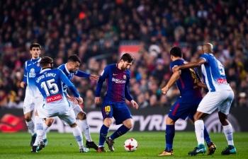 xem truc tiep espanyol vs barcelona o dau