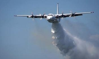 Rơi máy bay chữa cháy rừng, ba người chết