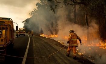 Sân bay đóng cửa vì cháy rừng