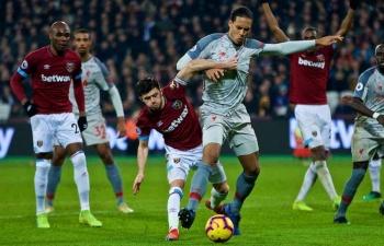 Link xem trực tiếp West Ham vs Liverpool (Ngoại hạng Anh), 2h45 ngày 30/1