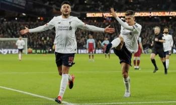 Liverpool gia tăng khoảng cách với Man City