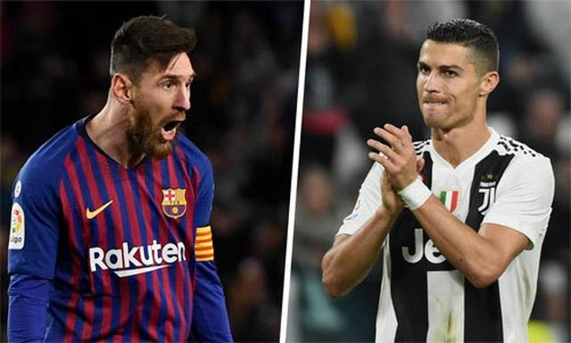 C.Ronaldo, Messi vượt qua Vua bóng đá Pele: Sóng sau xô sóng trước... - 2