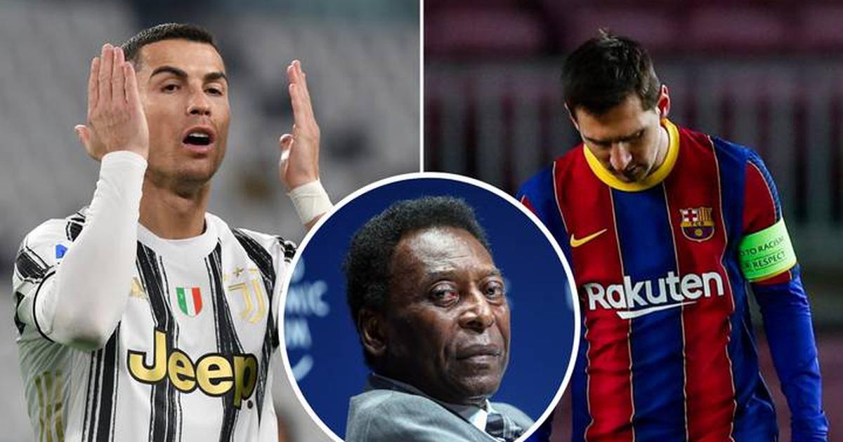 """C.Ronaldo, Messi vượt qua """"Vua bóng đá"""" Pele: Sóng sau xô sóng trước..."""