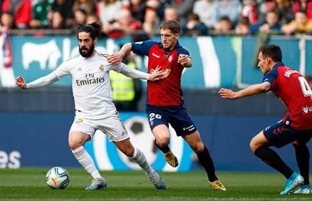 Link xem trực tiếp Osasuna vs Real Madrid (La Liga), 3h ngày 10/1