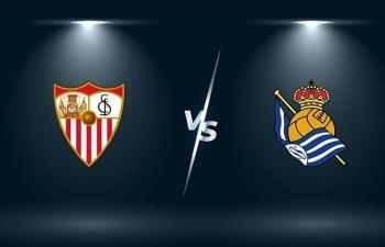 Kênh xem trực tiếp Sevilla vs Real Sociedad, vòng 18 La Liga 2020-2021