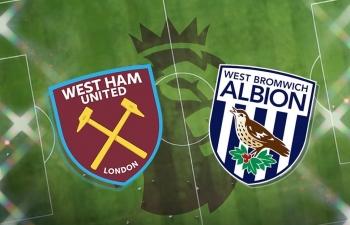 Kênh xem trực tiếp West Ham Utd vs West Brom, vòng 18 Ngoại hạng Anh 2020-2021