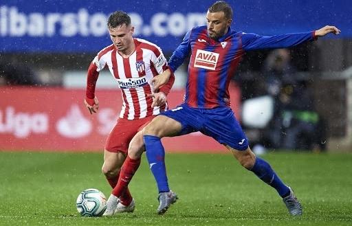 Link xem trực tiếp Eibar vs Atletico Madrid (La Liga), 3h30 ngày 22/1
