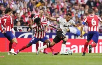 Link xem trực tiếp Atletico Madrid vs Valencia (La Liga), 3h ngày 25/1