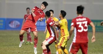 Đương kim vô địch Viettel hòa thất vọng trên sân Thanh Hóa