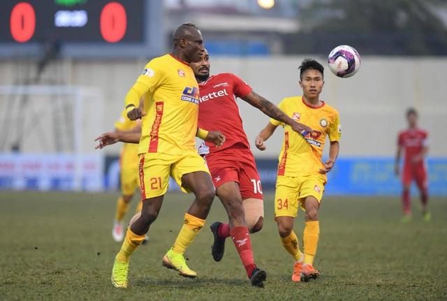 Đương kim vô địch Viettel hòa thất vọng trên sân Thanh Hóa - 5