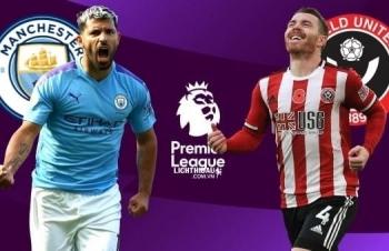 Kênh xem trực tiếp Man City vs Sheffield Utd, vòng 21 Ngoại hạng Anh 2020-2021