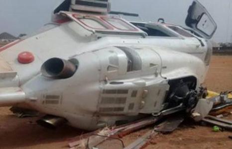 Phó tổng thống Nigeria thoát chết khi máy bay lao xuống đất