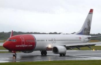 Máy bay Na Uy quay đầu vì nhận được tin có bom