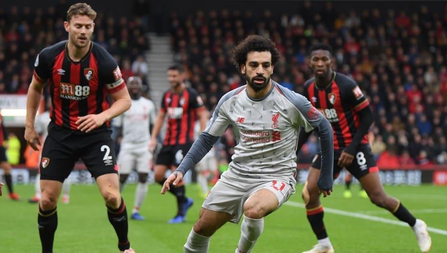 Kết quả hình ảnh cho Liverpool vs AFC Bournemouth