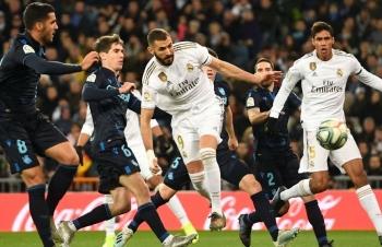 Link xem trực tiếp Real Madrid vs Real Sociedad (Cup Nhà vua TBN), 1h ngày 7/2