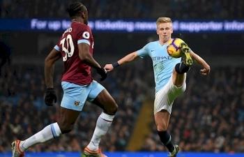 Link xem trực tiếp Man City vs West Ham (Ngoại hạng Anh), 2h30 ngày 20/2