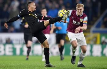 Kênh xem trực tiếp Burnley vs Man City, vòng 22 Ngoại hạng Anh 2020-2021