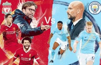 Xem trực tiếp bóng đá Liverpool vs Man City ở đâu?