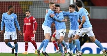 """Man City """"hủy diệt"""" Liverpool: Ai cản nổi """"Cuồng phong xanh""""?"""