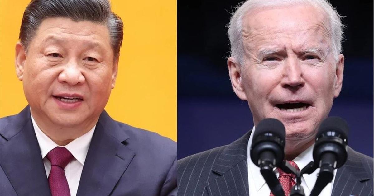 Ông Biden hối thúc Mỹ khẩn trương hành động để ngăn chặn Trung Quốc