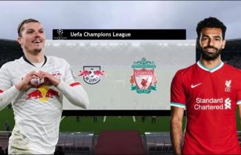 Link xem trực tiếp Leipzig vs Liverpool (Cup C1 Châu Âu), 3h ngày 17/2