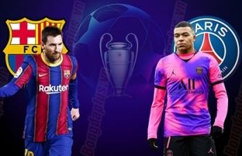 Xem trực tiếp Barca vs PSG ở đâu?