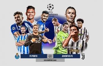 Xem trực tiếp FC Porto vs Juventus ở đâu?