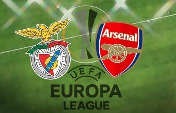 Link xem trực tiếp Benfica vs Arsenal (Cup C2 Châu Âu), 3h ngày 19/2