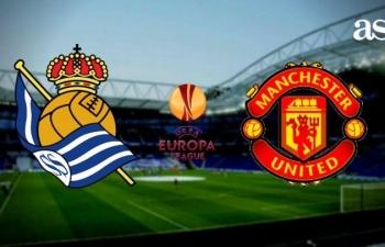 Xem trực tiếp Real Sociedad vs Man Utd ở đâu?