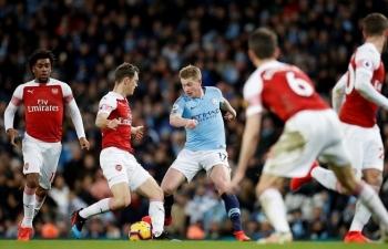 Link xem trực tiếp Arsenal vs Man City (Ngoại hạng Anh), 23h30 ngày 21/2