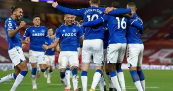 """Liverpool 0-2 Everton: Anfield tiếp tục thành """"tử địa"""""""