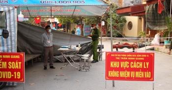 Kết thúc thời gian cách ly y tế các khu dân cư huyện Nam sách và Ninh Giang