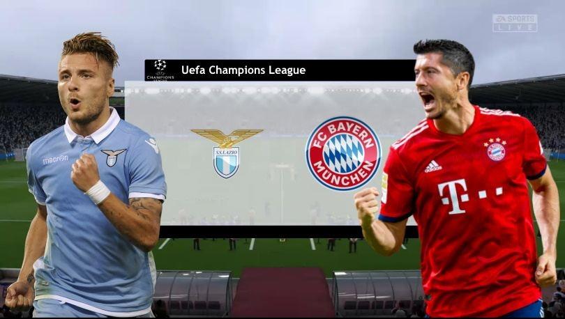 Link xem trực tiếp Lazio vs Bayern Munich (Cup C1 Châu Âu), 3h ngày 24/2