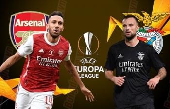 Xem trực tiếp Arsenal vs Benfica ở đâu?