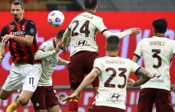 Link xem trực tiếp AS Roma vs AC Milan (Serie A), 2h45 ngày 1/3
