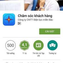 evnnpc trien khai phan mem cham soc khach hang tren smartphone